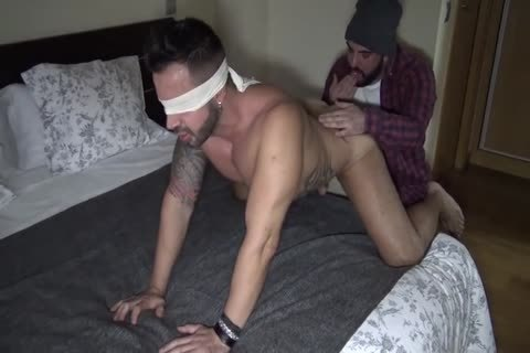 Blindfolded In A Hotel Room