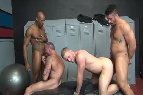 Testosterone Packed Breeding orgy