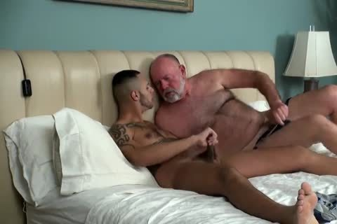 Father Comes Comfort In His Son's gap