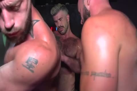 homosexual dilettante Muscle Hunks engulfing And nailing