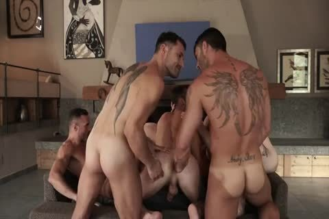 raw With 11-man's orgy