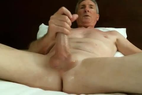 enormous Dicked daddy wanking 032