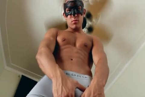 Well pumped up Smooth Masked Latino Solo