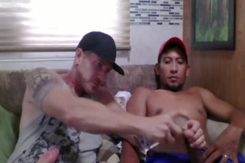 Straight Latino Construction Worker acquires First handjob From A man (Martin 2)