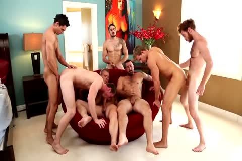juicy Straight Hunks In orgy