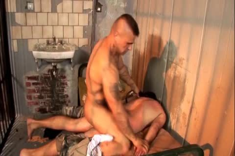 young Prisoner Dominated And pounded unprotected By daddy Thug