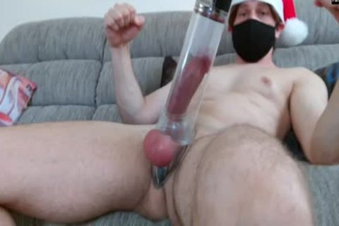 Xmas 2018 With Your Captain: A Cockpump And Double cumshot video 4 U!