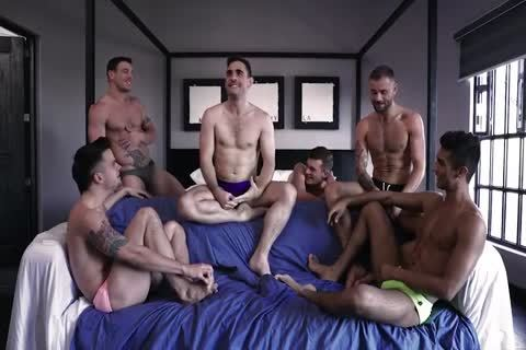 Excited Max And friends In A orgy