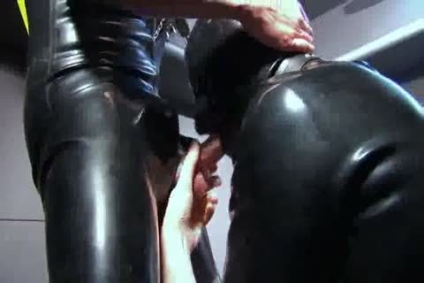 sucking And nailing In Rubber
