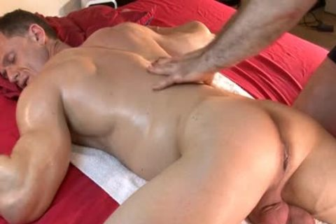 So handsome muscular Male receives Massages By two boyz In Spite Of Him : Stefen