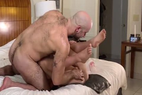 three-some Bears fuck So Hard