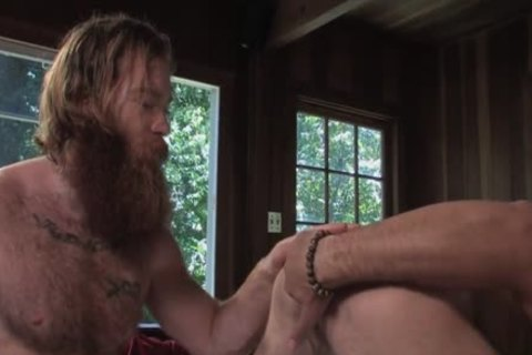 hairy Ginger bonks Buddy In Cabin
