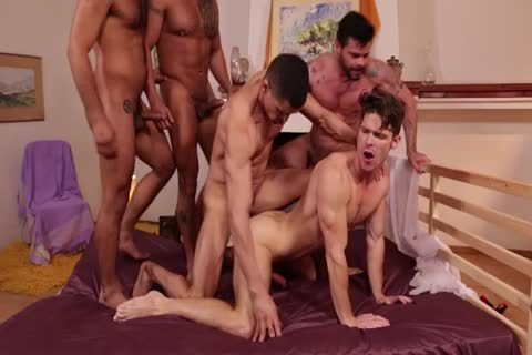 Devin Franco`s unprotected bunch group-sex
