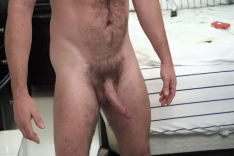 shaggy Stepdad gets His ramrod Sucked By Son