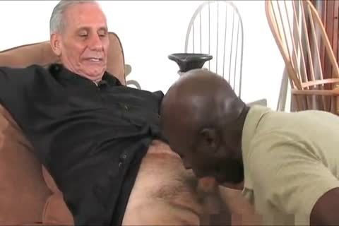 older dark Daddy And Three White old man's, One admirable Time