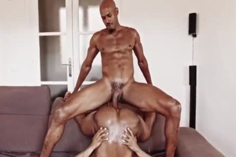 Two Blacks Have A Great pound With Creampie