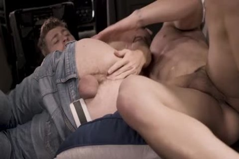 concupiscent twink Got drilled By A Muscle chap