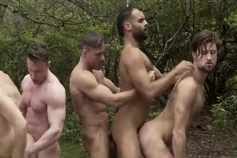 homosexual orgy In The Woods