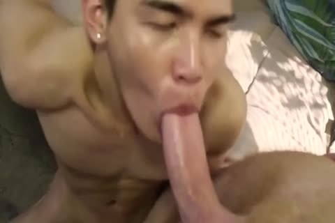 Smooth asian twink slammed By rough White Top