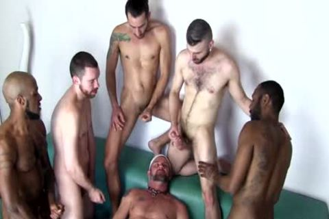 Real males delicious Beard orgy