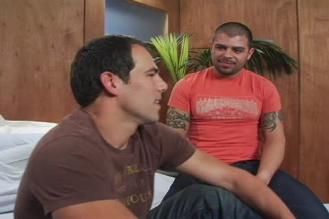 Jason Takes Manuel's thick Latino rod