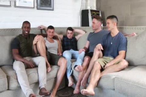 'Sexiest Muscle studs On PornHub acquire A Star Studded gay orgy together. One For The Books!'