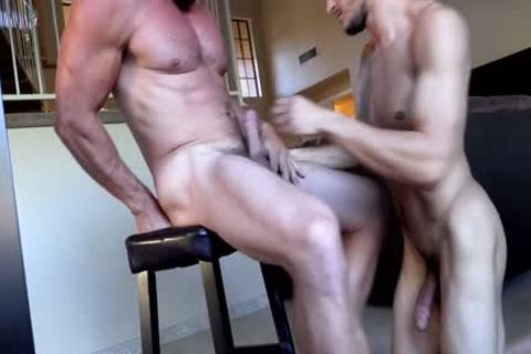 Daddy Derek slams Ethans kinky hole - FULL DOMINATION - awesome Facial