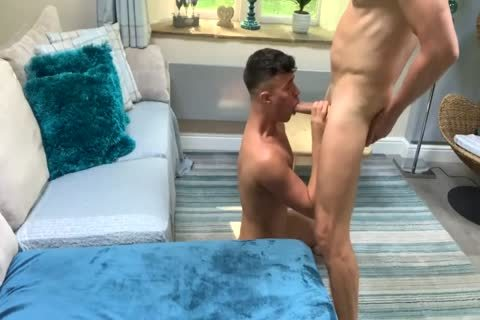Daddy plows His lad Hard