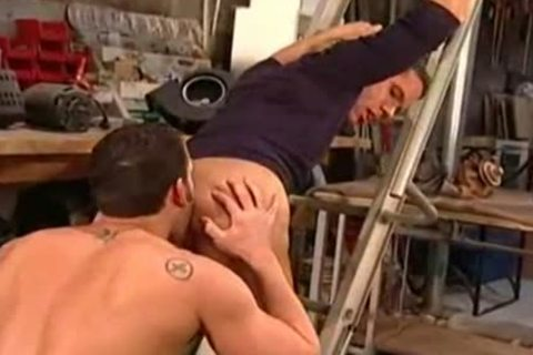 Hunky demanding hard plow and suck