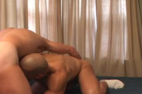 giant muscle twink receives poked hard doggy